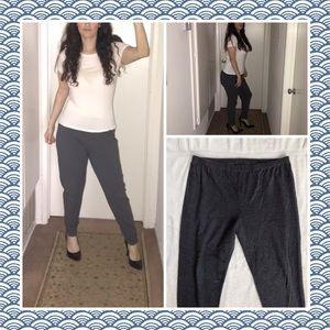 Oversized Gray comfy skinny  sweatpants Size 3X